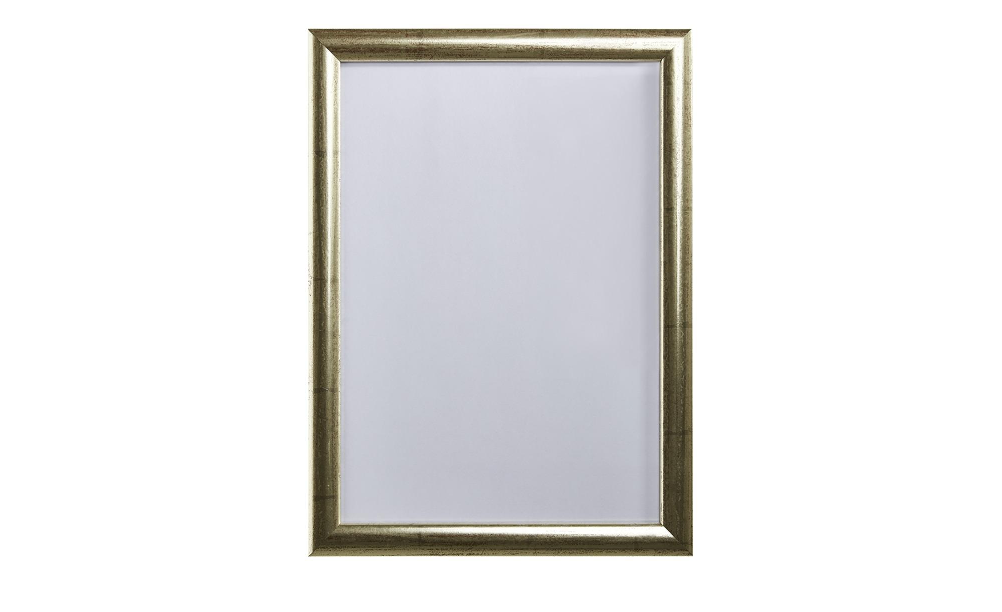 Bilderrahmen - silber - 21 cm - 30 cm - Dekoration > Bilderrahmen - Möbel Kraft | Dekoration > Bilder und Rahmen > Rahmen | Sconto
