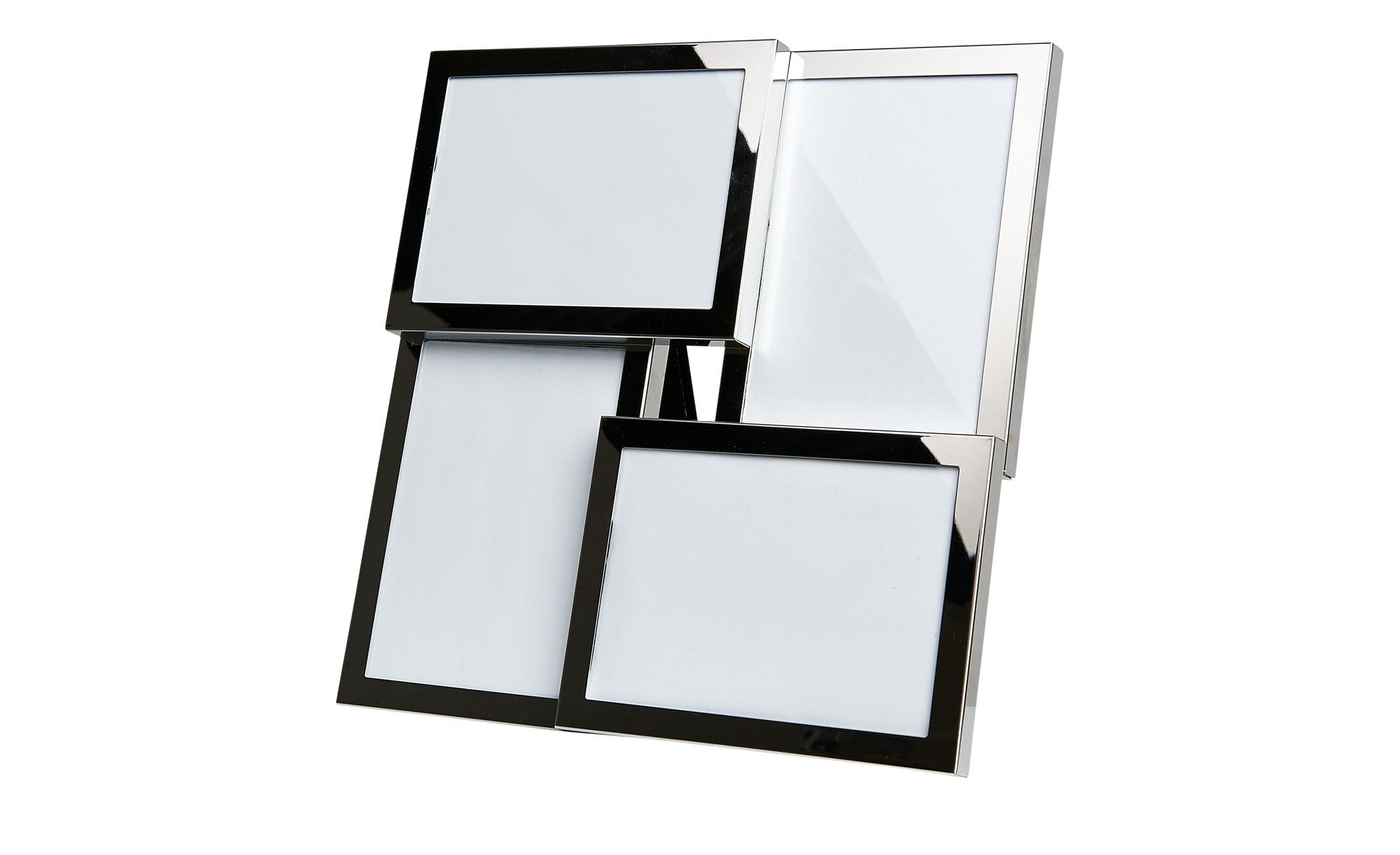 Tisch-Bilderrahmen Collage - silber - Metall - 27 cm - 27 cm - Dekoration > Bilderrahmen - Möbel Kraft | Dekoration > Bilder und Rahmen > Rahmen | Sconto