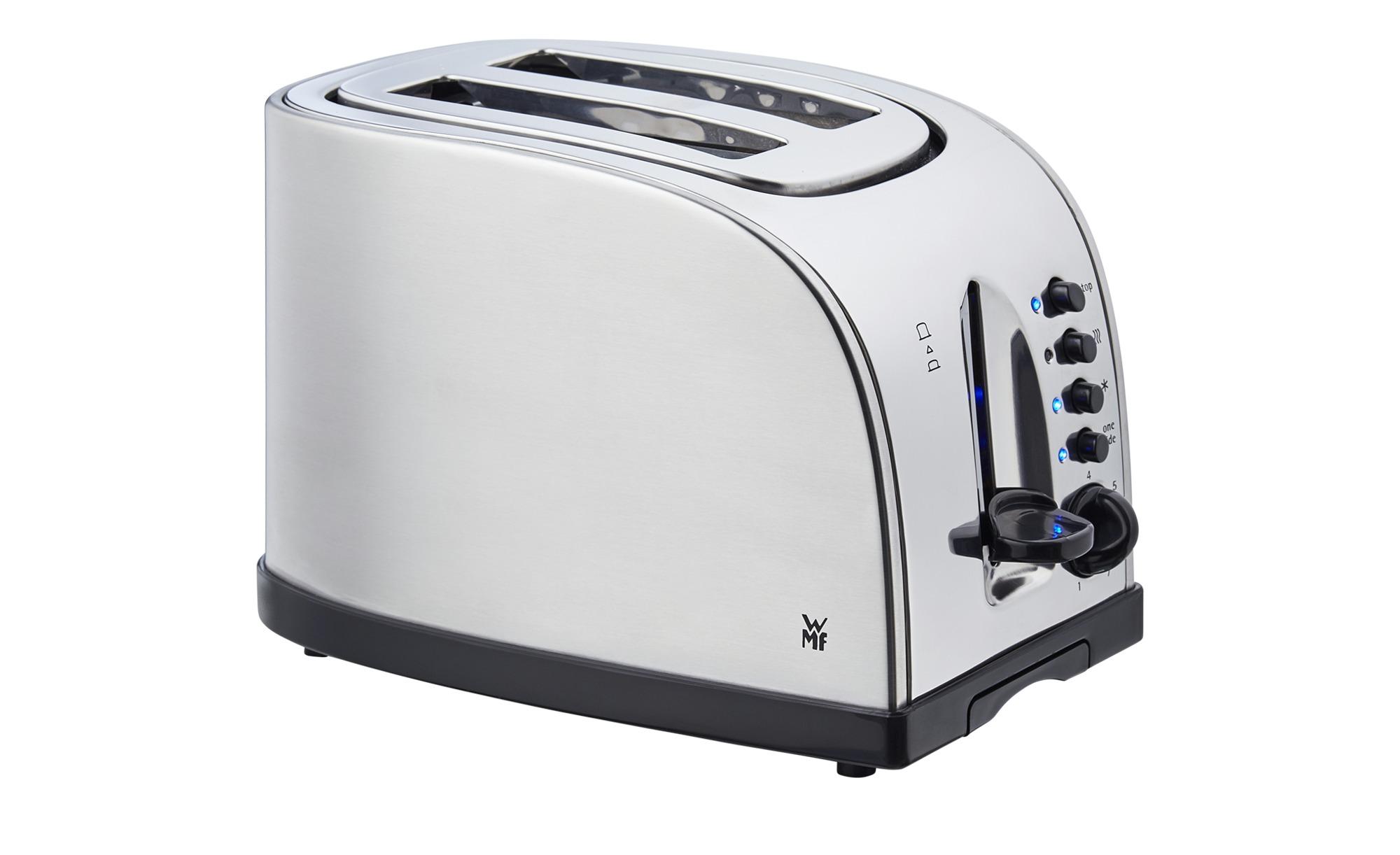 WMF Toaster Stelio   0414010012 - silber - Kunststoff, Edelstahl - 32,5 cm - 20 cm - 27,5 cm - Elektrokleingeräte > Toaster - Möbel Kraft   Küche und Esszimmer > Küchengeräte > Toaster   WMF