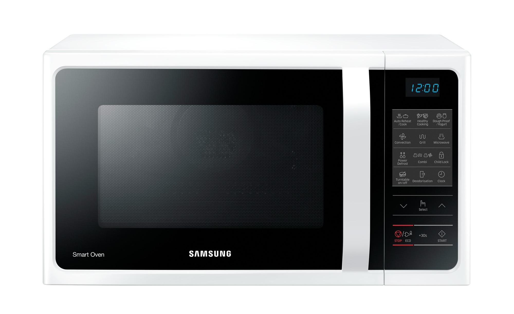 Samsung Mikrowelle  MC28H5013AW/EG - weiß - Glas , Kunststoff - 51,7 cm - 31 cm - 47,48 cm - Elektrokleingeräte > Mikrowellen - Möbel Kraft | Küche und Esszimmer > Küchenelektrogeräte > Mikrowellen | Samsung