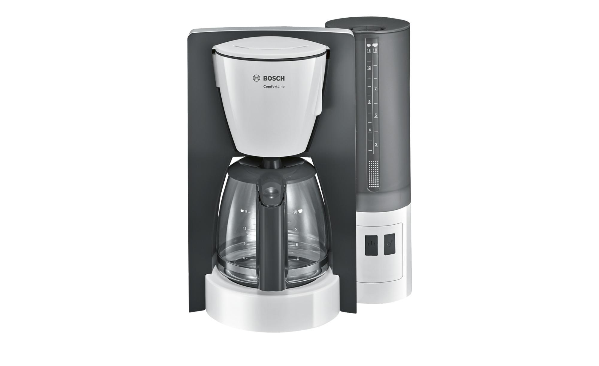 BOSCH Kaffeeautomat  TKA 6A041 - weiß - Kunststoff - 28,5 cm - 35,5 cm - 23 cm - Elektrokleingeräte > Kaffee & Espressomaschinen - Möbel Kraft   Küche und Esszimmer > Kaffee und Tee > Kaffeemaschinen   BOSCH