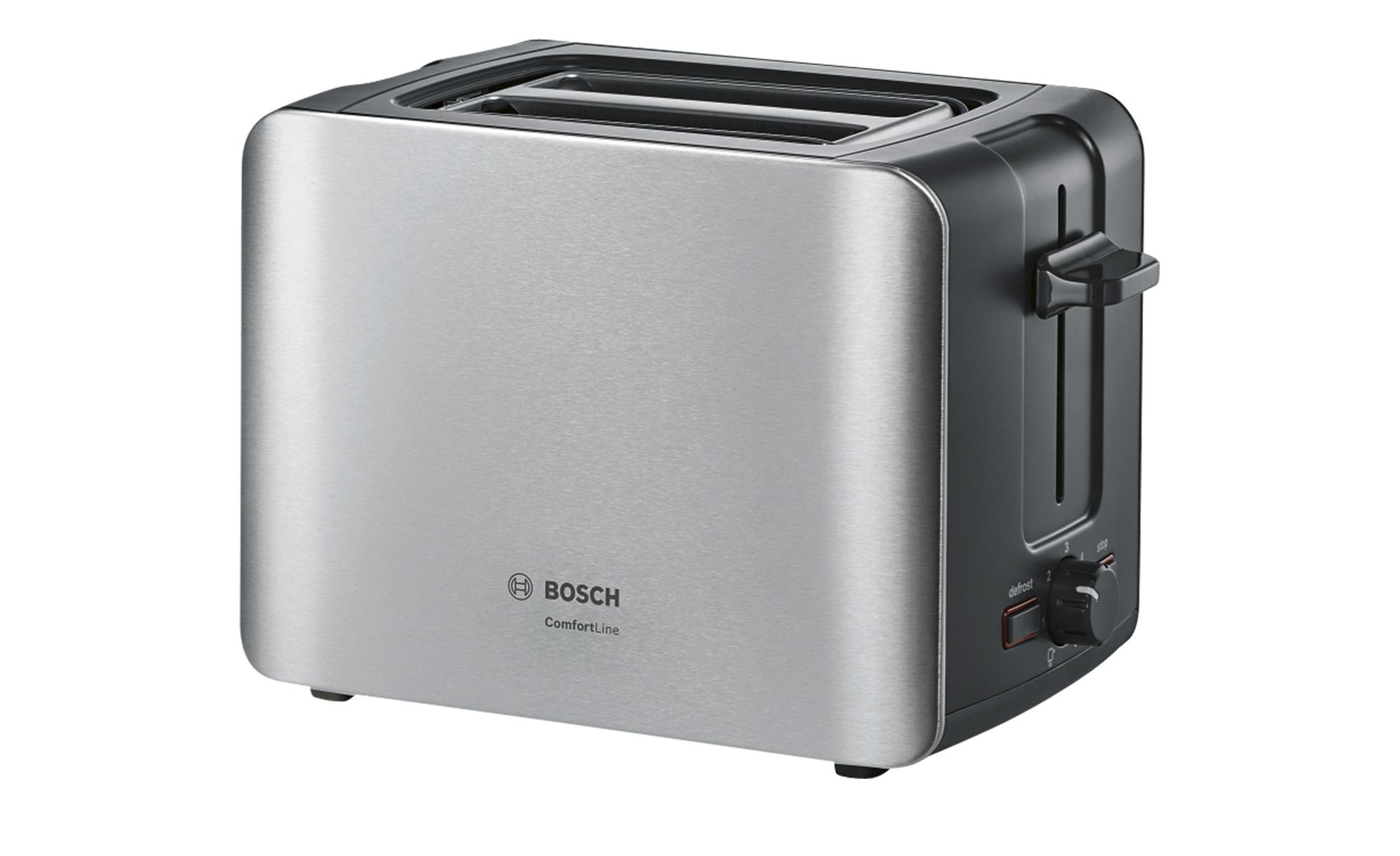 BOSCH Toaster - Metall, Kunststoff - 0,8 cm - 17,5 cm - 12 cm - Elektrokleingeräte > Toaster - Möbel Kraft   Küche und Esszimmer > Küchengeräte   BOSCH
