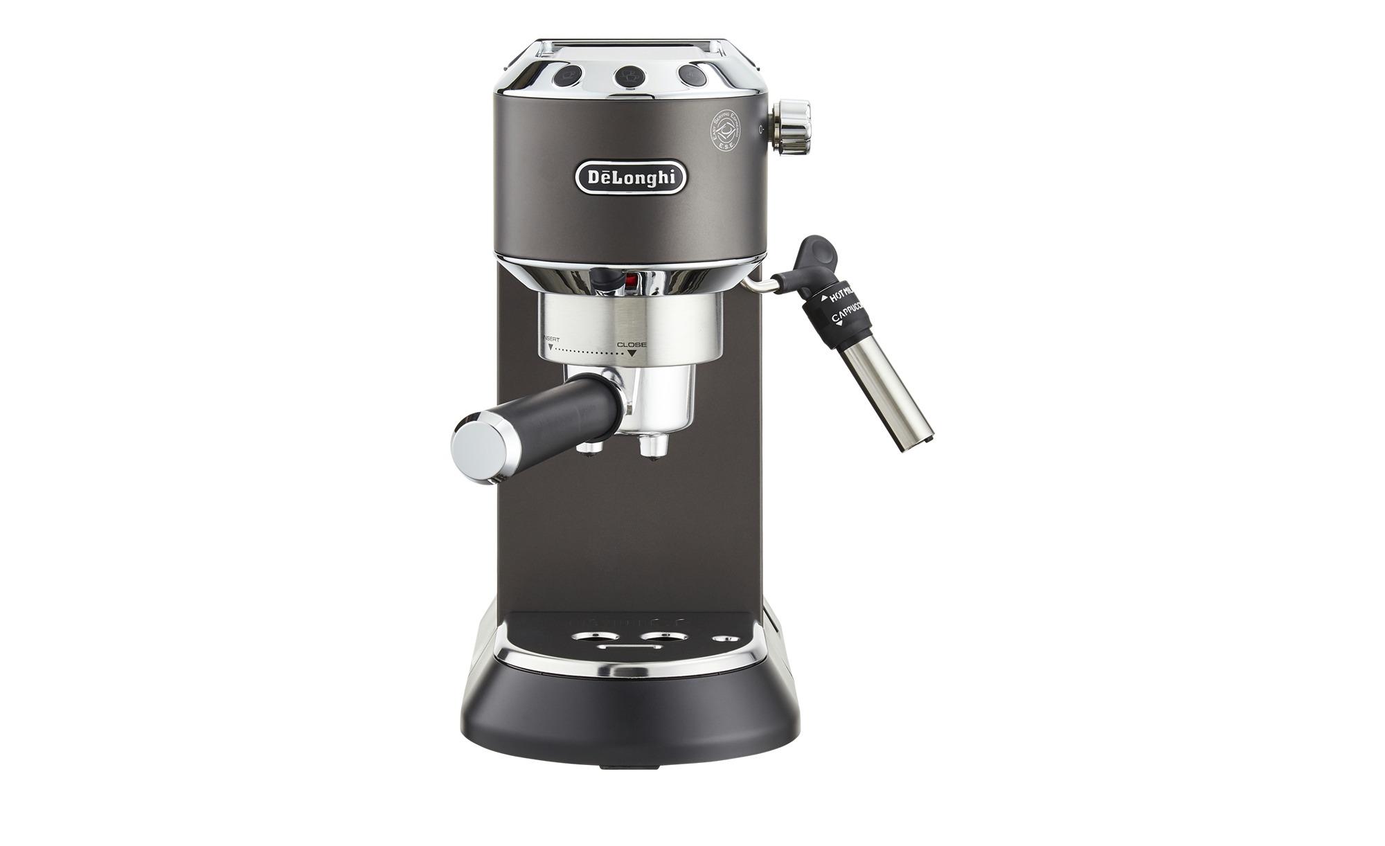 DeLonghi Espresso-Maschine  EC 685.BK Dedica - schwarz - Kunststoff, Metall, Metall-lackiert - 14,9 cm - 30,5 cm - 33 cm - Elektrokleingeräte > Kaffee & Espressomaschinen - Möbel Kraft