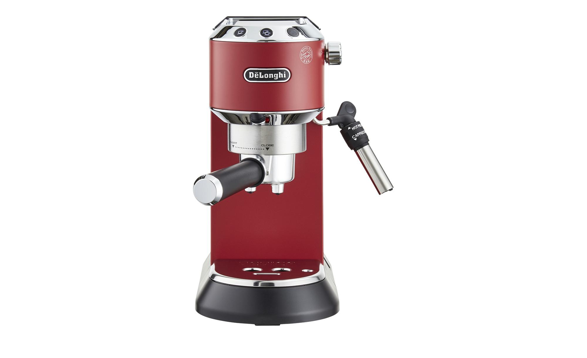 DeLonghi Espresso-Maschine  EC 685.R Dedica - rot - Kunststoff, Metall, Metall-lackiert - 14,9 cm - 30,5 cm - 33 cm - Elektrokleingeräte > Kaffee & Espressomaschinen - Möbel Kraft