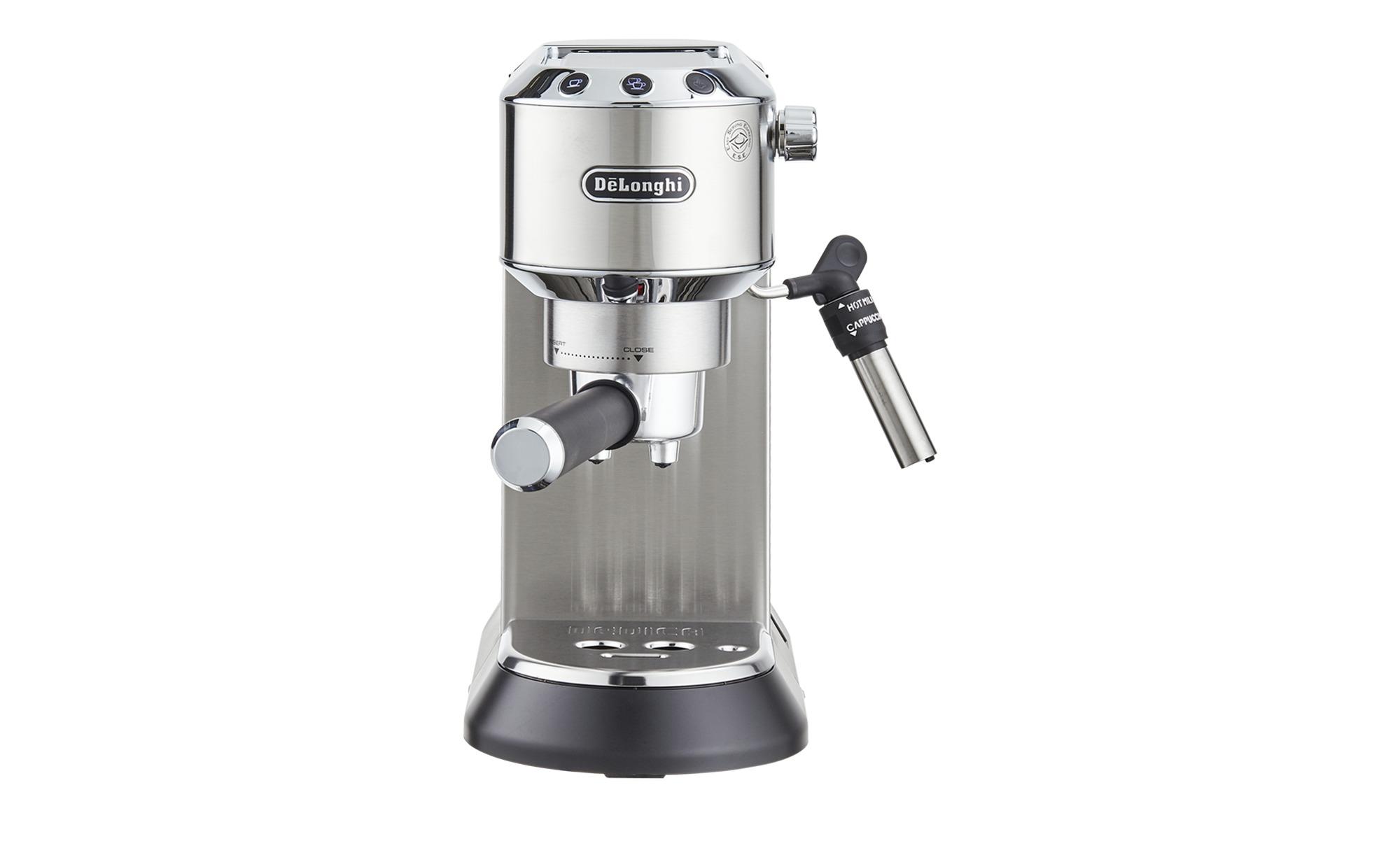DeLonghi Espresso-Maschine  EC 685.M Dedica - silber - Kunststoff, Metall, Metall-lackiert - 14,9 cm - 30,5 cm - 33 cm - Elektrokleingeräte > Kaffee & Espressomaschinen - Möbel Kraft