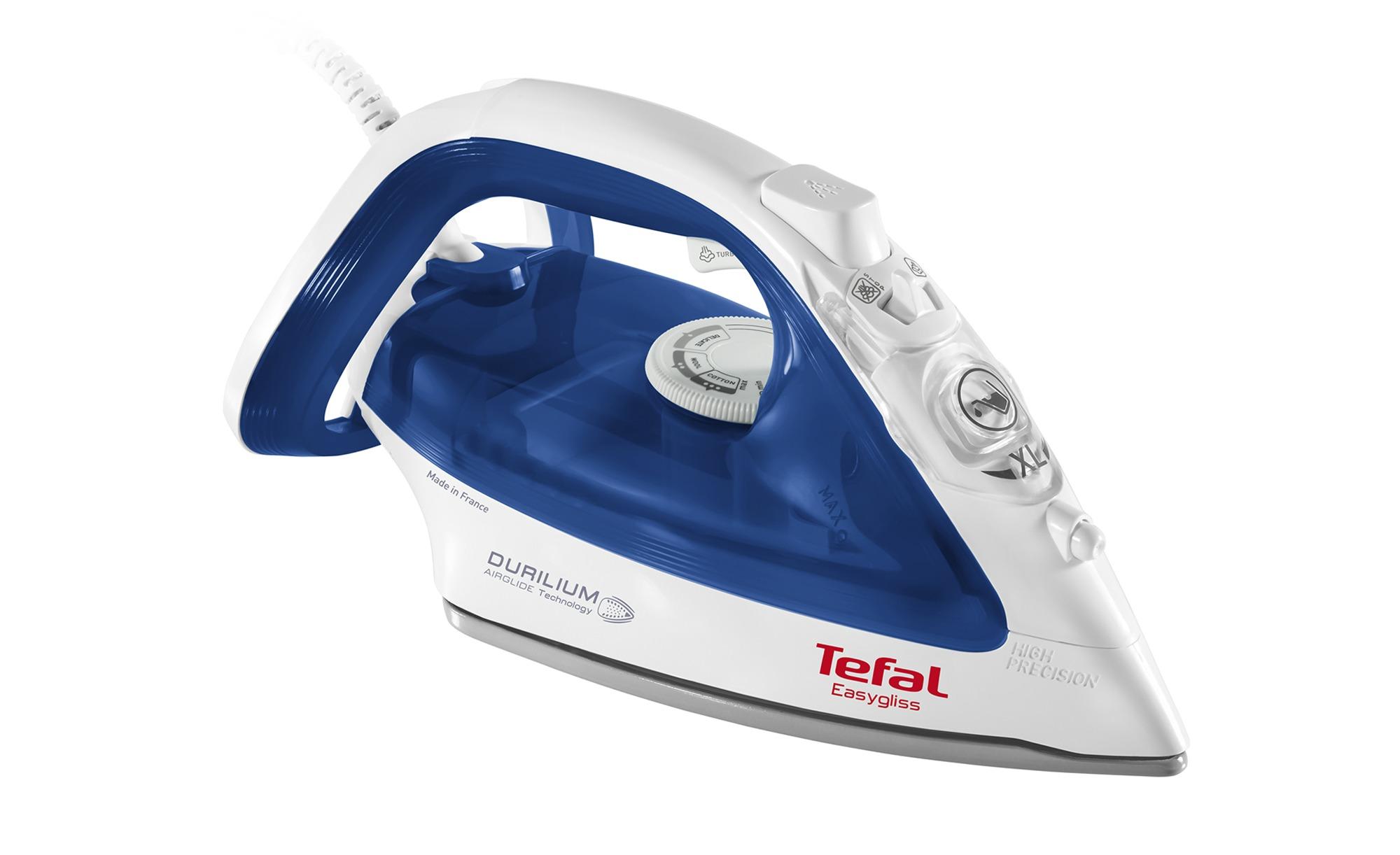 Tefal Dampfbügeleisen  FV 3960 - Kunststoff - 34 cm - 18 cm - 15 cm - Elektrokleingeräte > Bügeln - Möbel Kraft | Flur & Diele > Haushaltsgeräte > Bügeleisen | Tefal