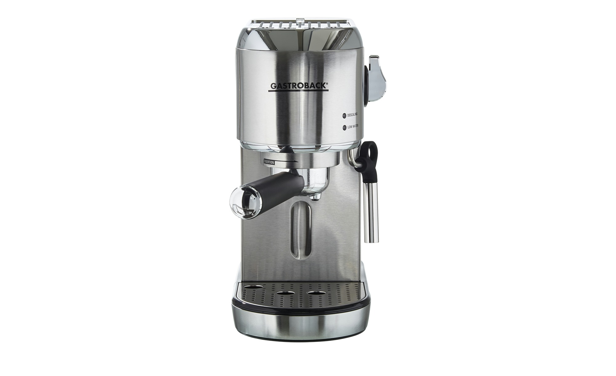 GASTROBACK Espresso-Maschine  42716 - silber - Edelstahl, Kunststoff - 15 cm - 30 cm - 30,8 cm - Elektrokleingeräte > Kaffee & Espressomaschinen - Möbel Kraft   Küche und Esszimmer > Kaffee und Tee > Espressomaschinen   GASTROBACK