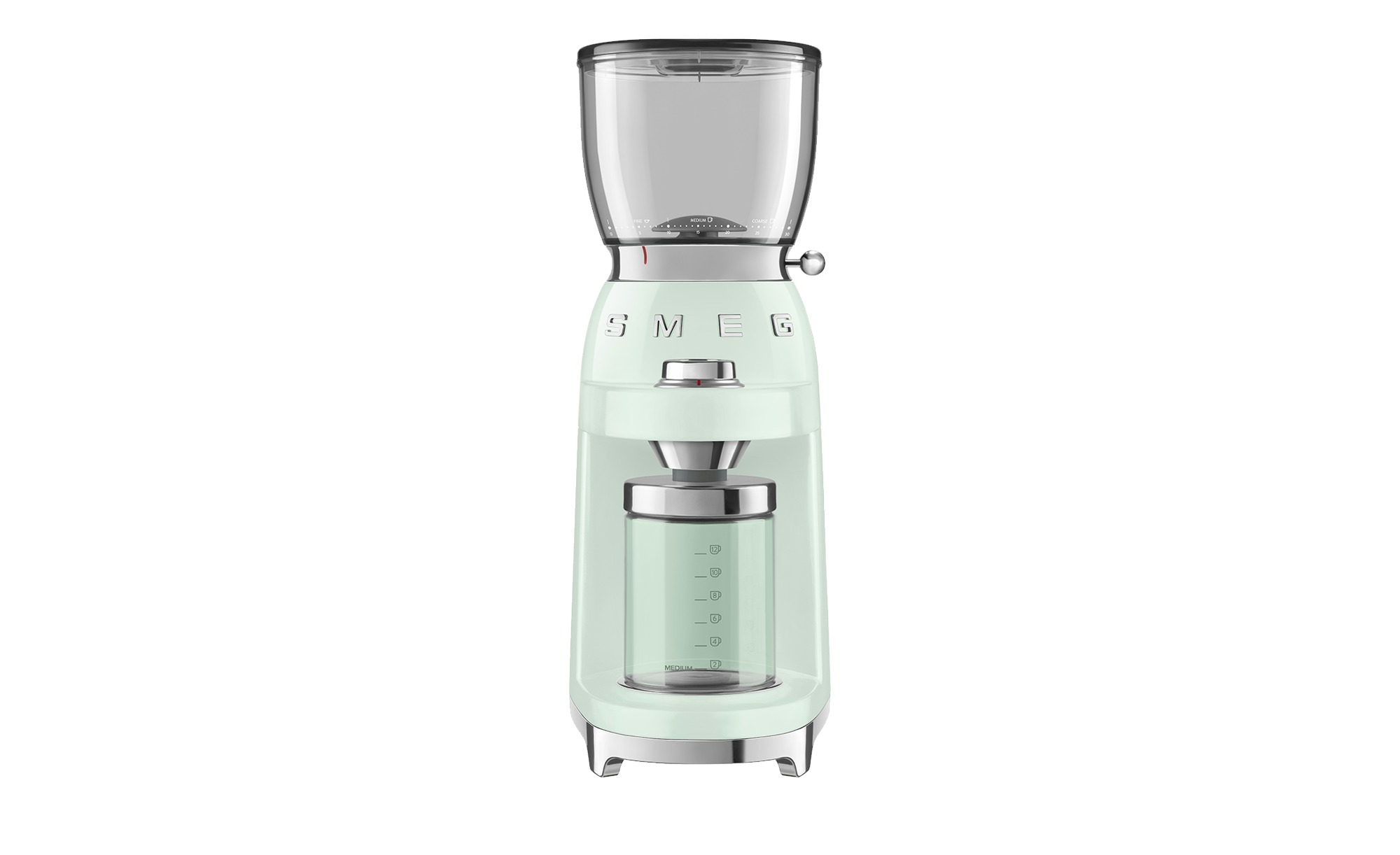 smeg Kaffeemühle  CGF01PGEU - grün - Kunststoff, Aluminium - 25 cm - 46 cm - 17 cm - Elektrokleingeräte > Kaffee & Espressomaschinen - Möbel Kraft | Küche und Esszimmer > Kaffee und Tee > Espressomaschinen | smeg