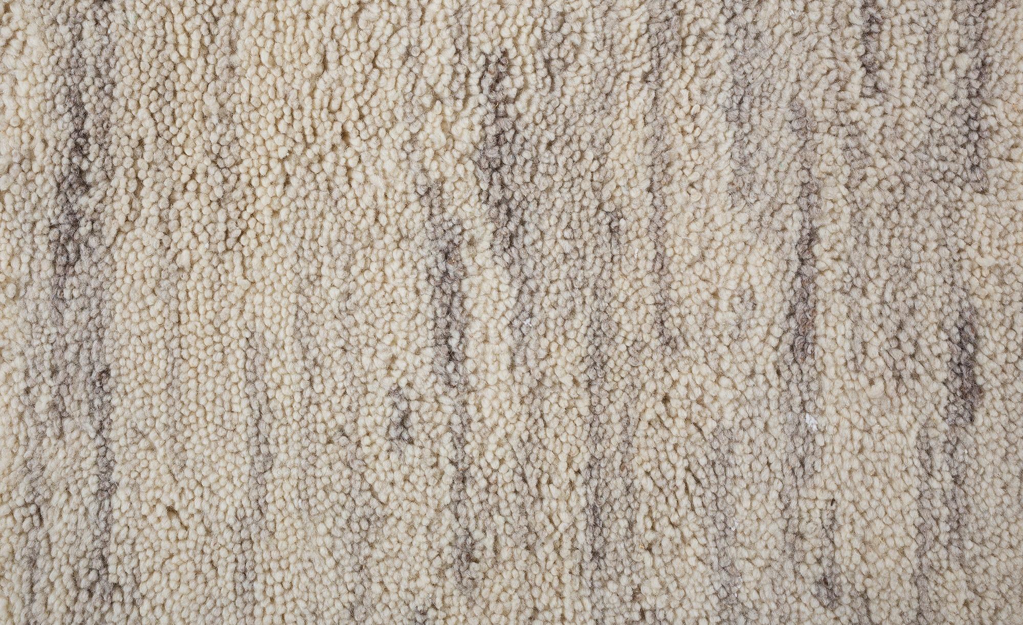 Berber-Teppich - creme - reine Wolle, Wolle - 90 cm - Teppiche > Wohnteppiche > Naturteppiche - Möbel Kraft | Heimtextilien > Teppiche > Berberteppiche | Sconto