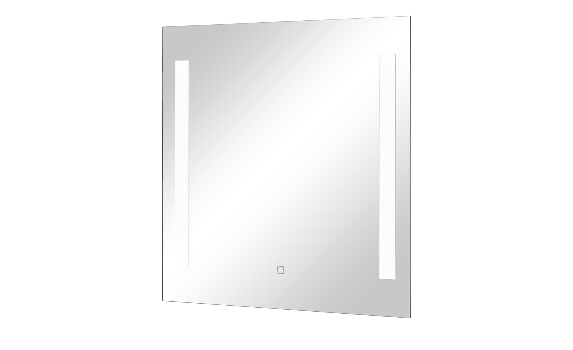 LED-Badspiegel - verspiegelt - 70 cm - 70 cm - 3 cm - Badtextilien und Zubehör > Badaccessoires - Möbel Kraft   Bad > Spiegel fürs Bad   Sconto