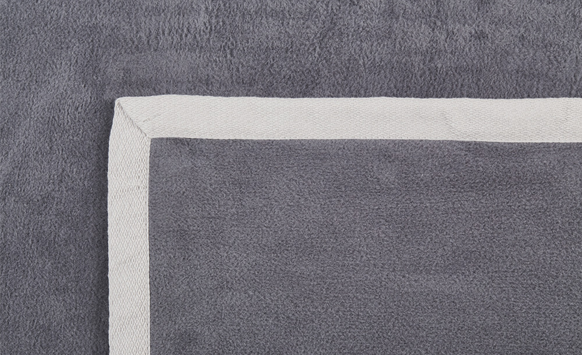 como Wohndecke  Berta - grau - 100% Baumwolle - 150 cm - Heimtextilien > Ku günstig online kaufen