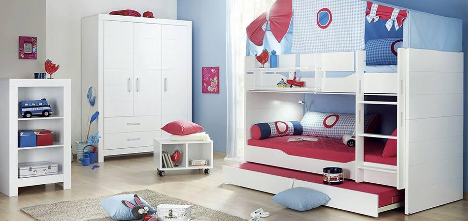 Kinderzimmer weiß modern