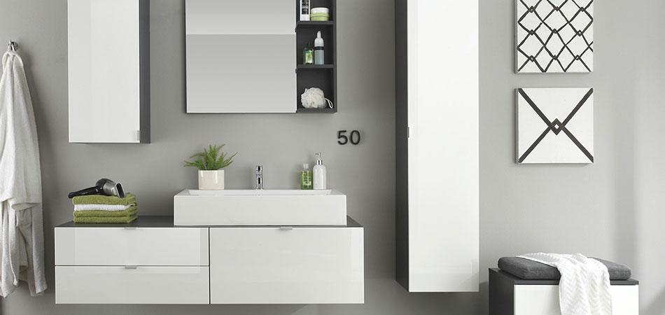 Badmöbel Modern Weiß