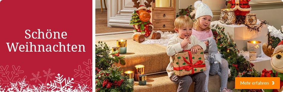 Jetzt weihnachtlich dekorieren