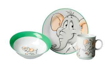 Ritzenhoff & Breker Kindergeschirr, 3-teilig  Elefant
